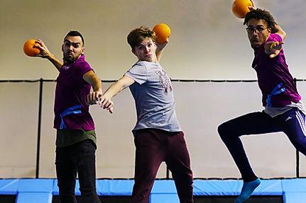 dodgeball trampoline - Rebound World Montpellier
