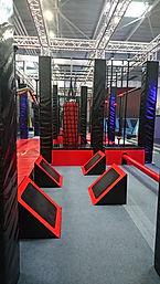 Rebound World Montpellier Jump trampoline park odysseum activités enfants adultes Ninja Warrior