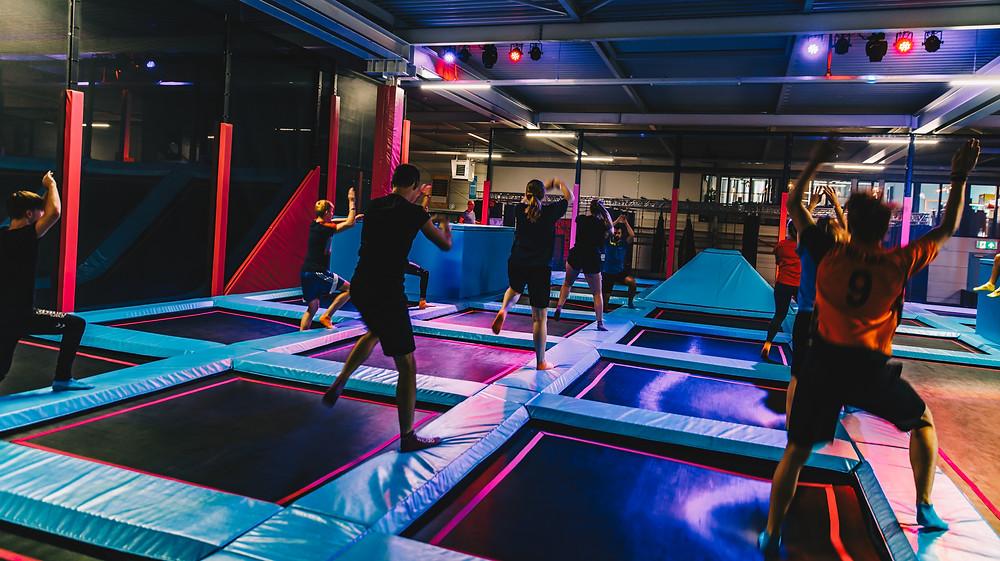 jumping fitness trampoline park montpellier