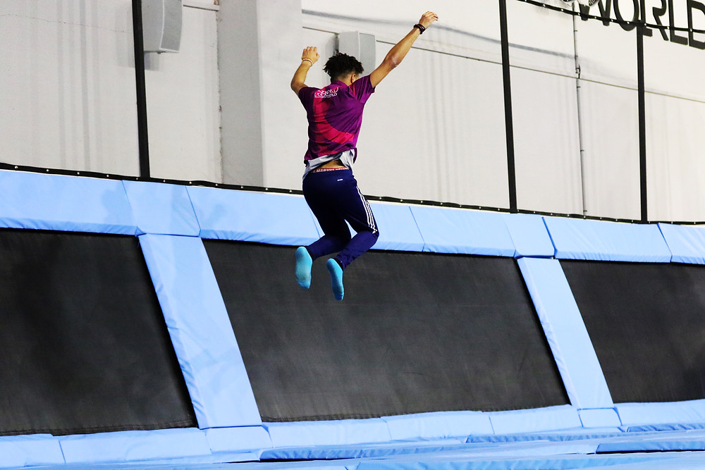 bienfaits du trampoline sur le stress