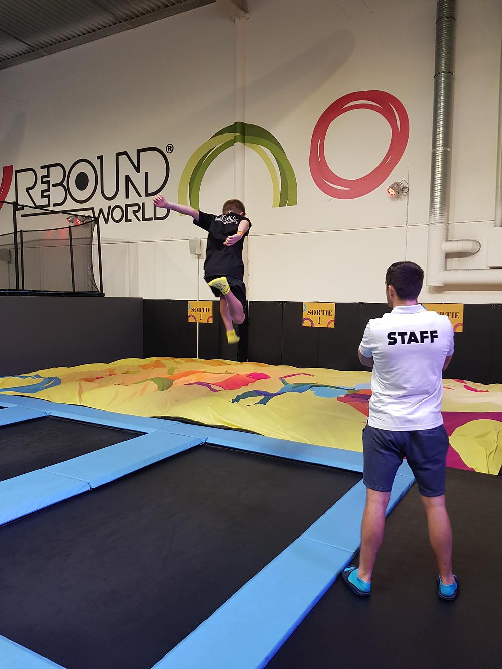 activité pour les enfants à Montpellier - trampoline park Rebound World