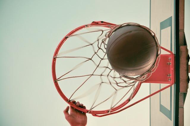 basket trampoline