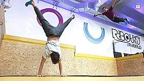 Rebound World Montpellier Jump trampoline park odysseum activités enfants adultes  Walking Wall