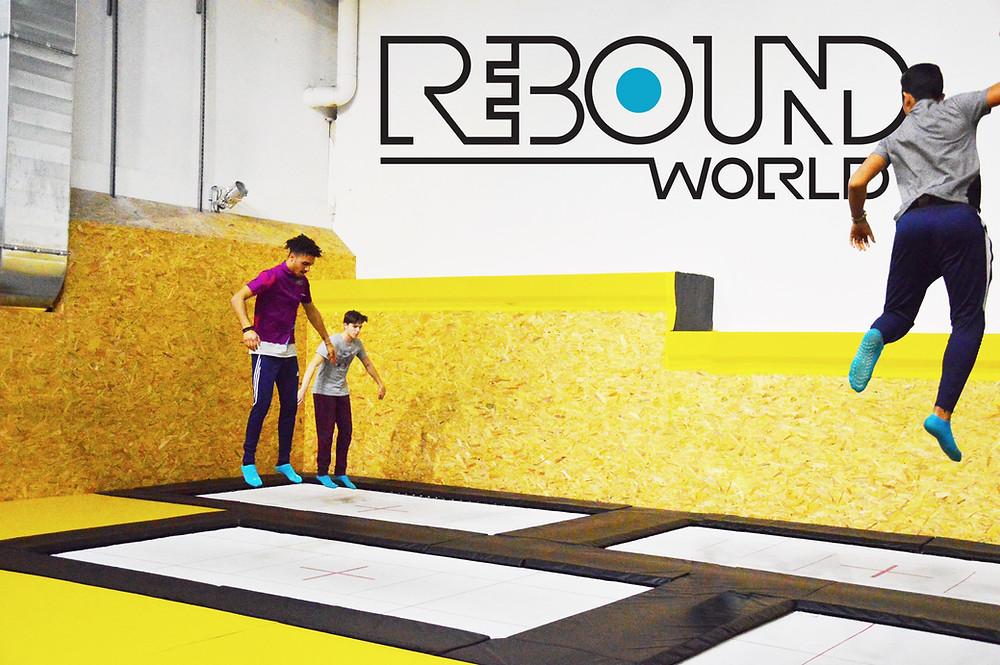 trampoline park montpellier - activité indoor - Rebound world