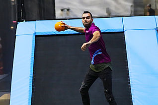 Rebound World Montpellier Jump trampoline park odysseum activités enfants adultes Dodgeball