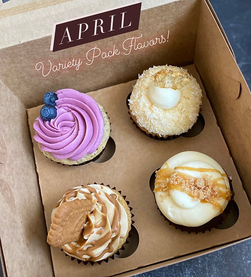 Monthly Variety Pack - April
