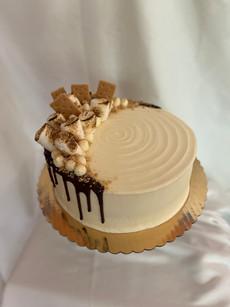 "9"" S'mores cake"
