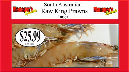 Samtass april 2020 large raw king prawns