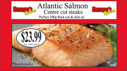 Samtass atlantic salmon centre cut 200g