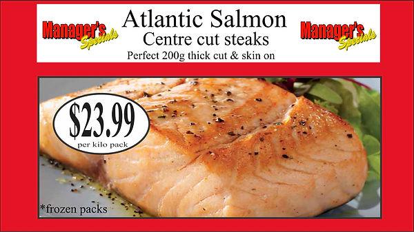 Samtass atlantic salmon centre cut 200g