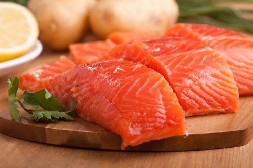 Atlantic Salmon Fillets Skin Off