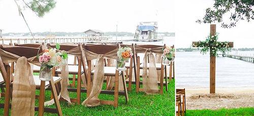 Bay side wedding, unique beach wedding, elegant bay wedding, elegant beach wedding, christian beach wedding, vintage beach wedding, coral beach wedding