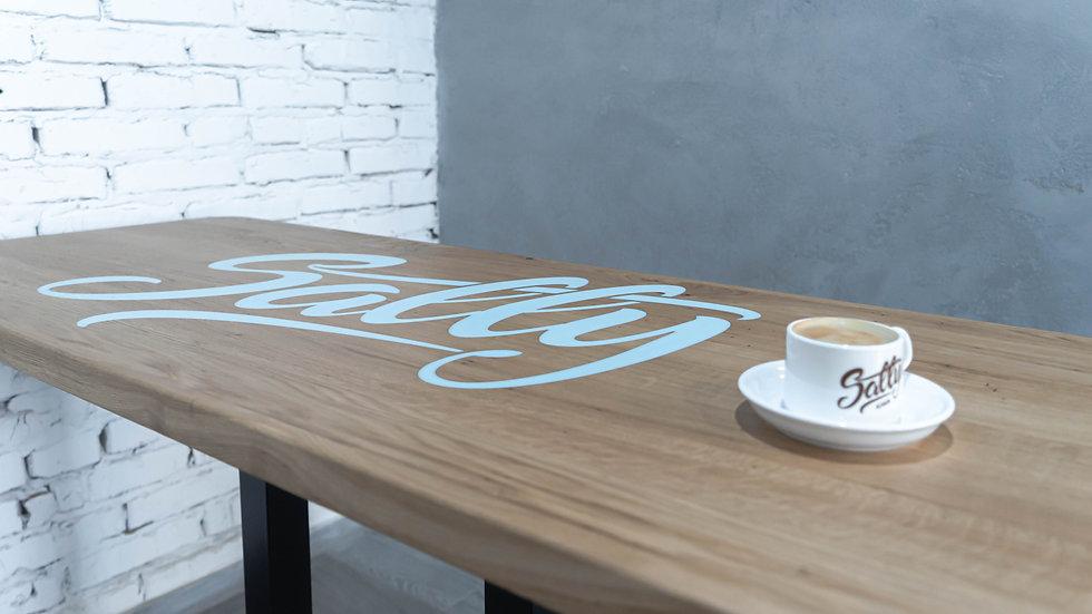 Стол обеденный с логотипом W-72044