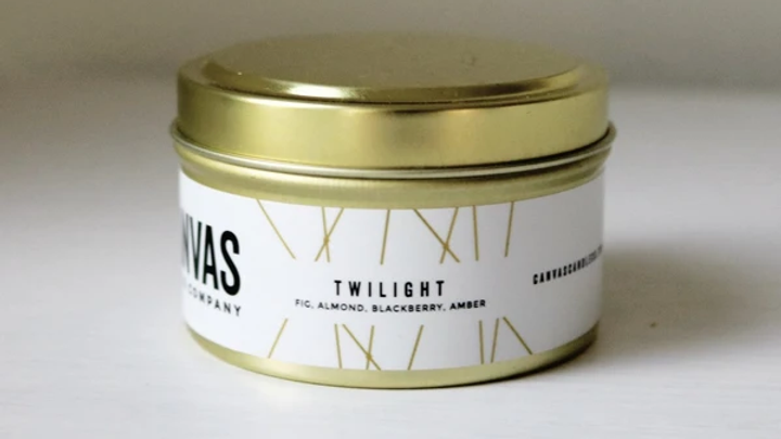 6oz Gold Travel Tin - Twilight
