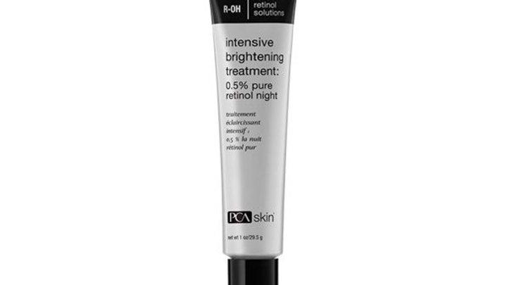 Intensive Brightening Treatment: 0.5% pure retinol