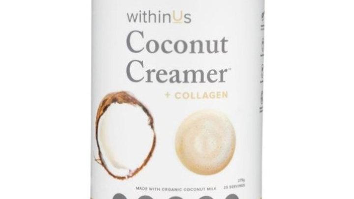 withinUs Coconut Creamer + TruMarine™ Collagen