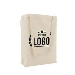 Tote bag coton naturel personnalisé