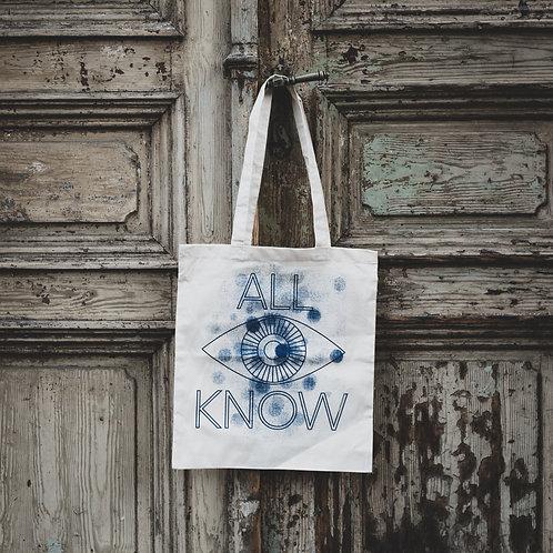Látková taška ALL I KNOW