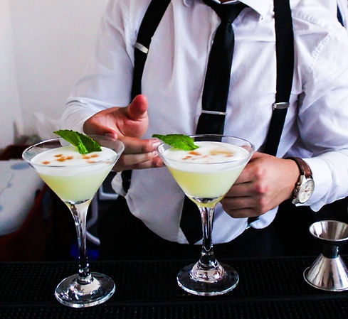 Portafolio de cocteles con y sin licor Skal Drinks Bogota
