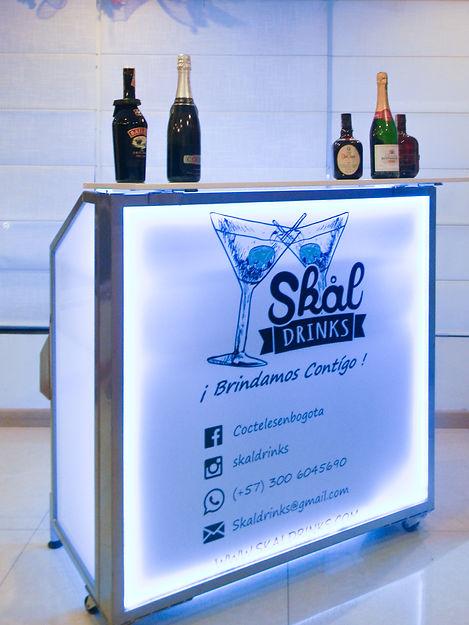 Alquiler de barras móviles Skal Drinks Bogotá