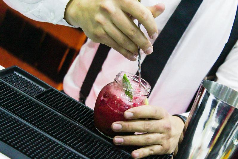 Coctelería sin licor