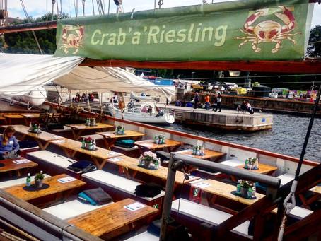 Norsk krabbe og tysk riesling
