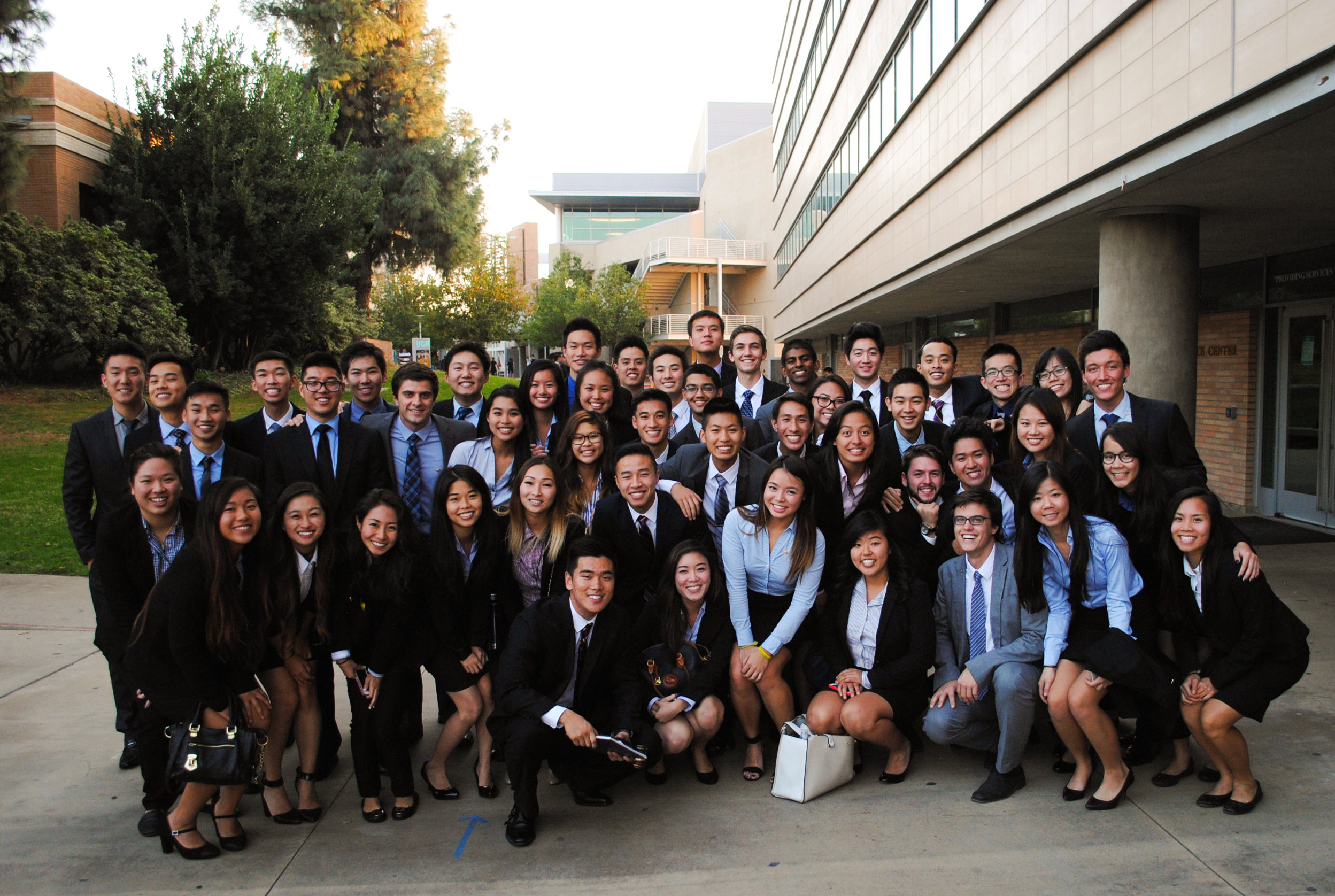 Omicron Sigma - Fall Initiation 2014