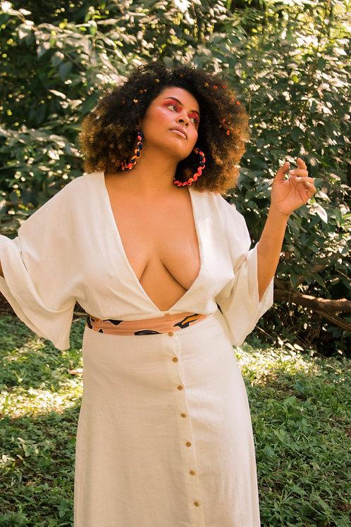 Vestido Zélia Off White