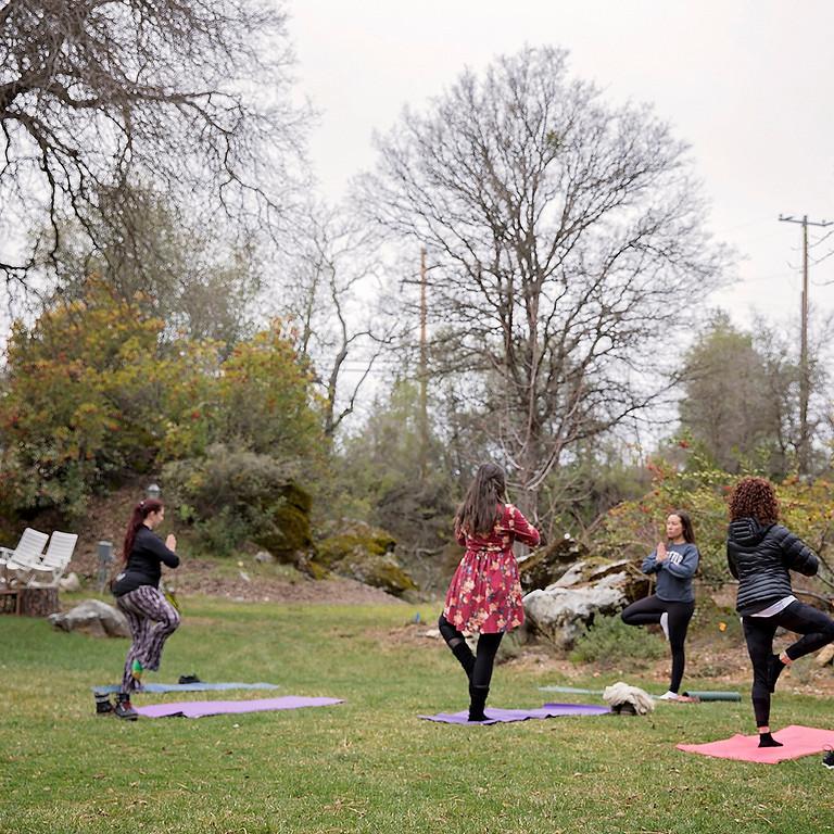 Garden Yoga & Crafting