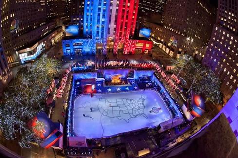 NBC News Democracy Plaza