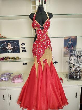 Red Raqs Sharqi Dress