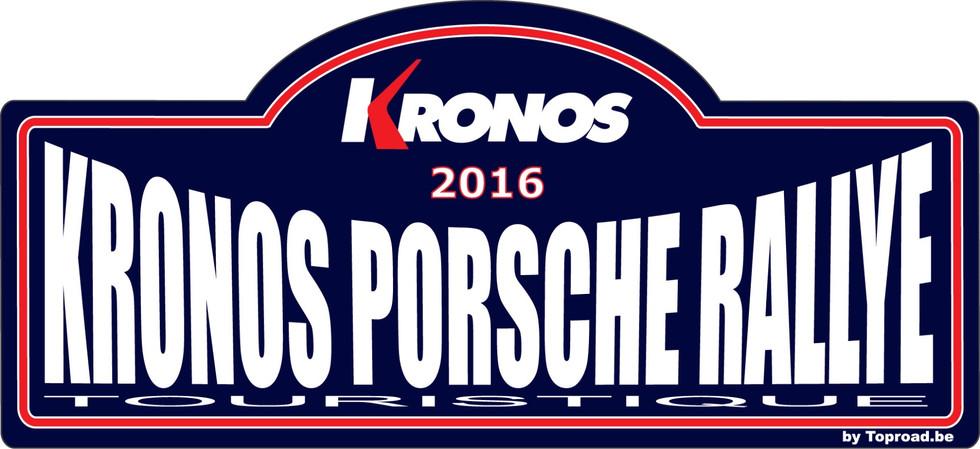 Kronos Porsche Rallye 2016
