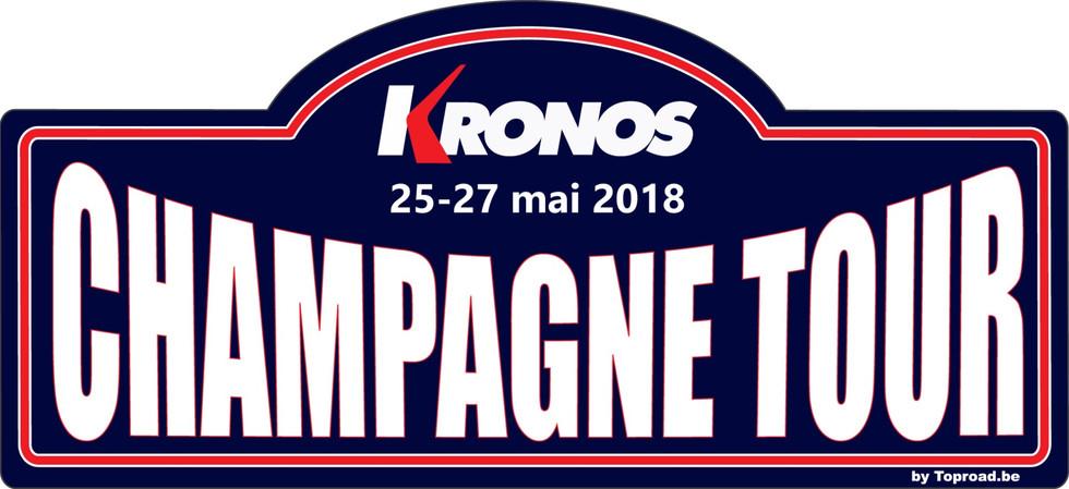 CHAMPAGNE TOUR 2018