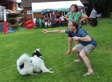 Ein perfekter Tag für Hund und Herr in Königsfeld