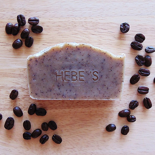 COFFEE Coconut+Shea Soap | Hebe's Naturals