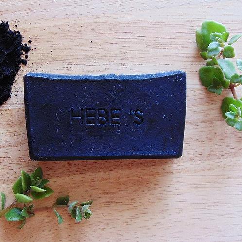 Charcoal Coconut+Shea Soap | Hebe's Naturals