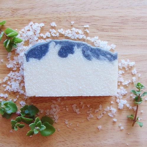 SEASALT Coconut+Shea Soap | Hebe's Naturals