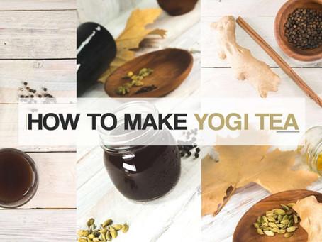 Tasty Yogi Tea