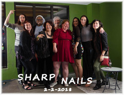 sharp nails group with ID