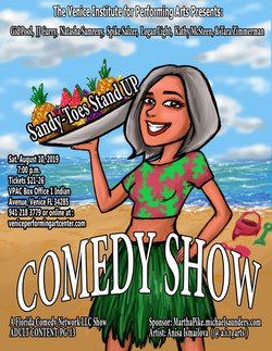 Sandy-Toes Stand-Up Comedy Show