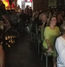 """""""Whatta Mom!"""" crowd at Common Ground"""