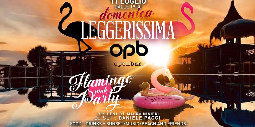 DOMENICA LEGGERISSIMA  FLAMINGO PINK PARTY