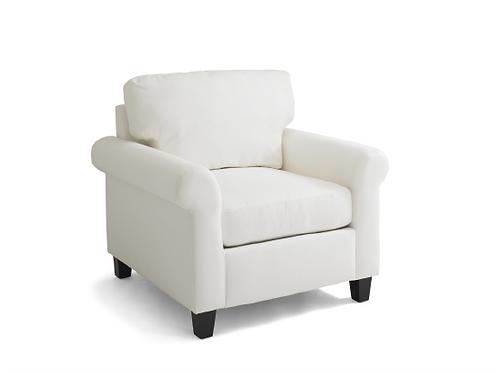 Faith Chair with Custom Slipcover