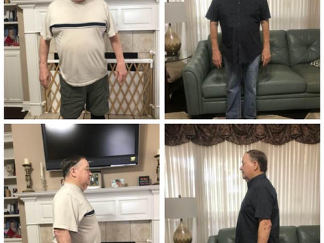 Jerry Ends his 18 year Battle with Type II Diabetes and Loses 50+ Lbs