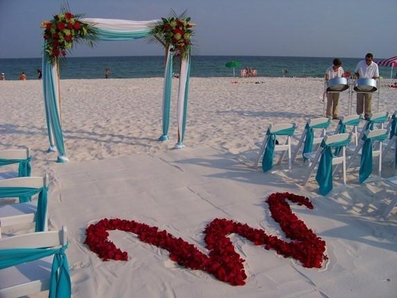 Beach Wedding at Gulf Coast
