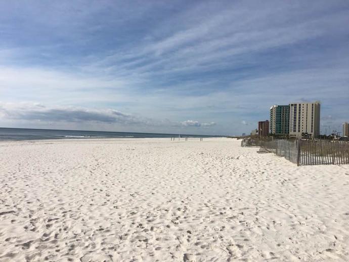 Beach in Gulf Coast