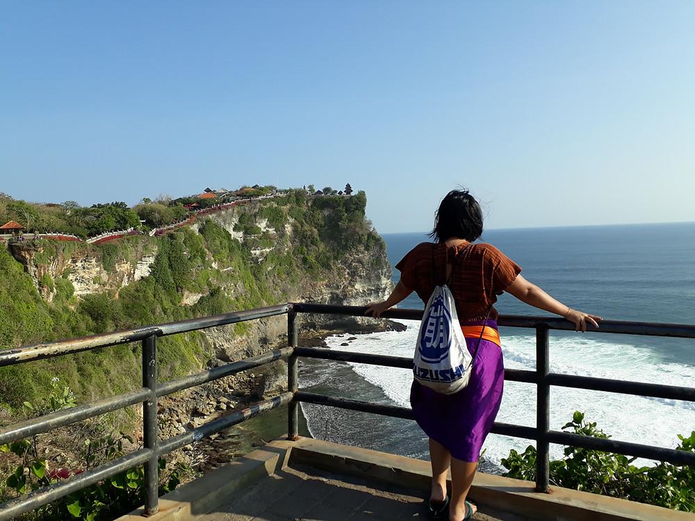 Tebing Uluwatu, Bali (c) Arakita Rimbayana BuLiBi Bukan Liburan Biasa