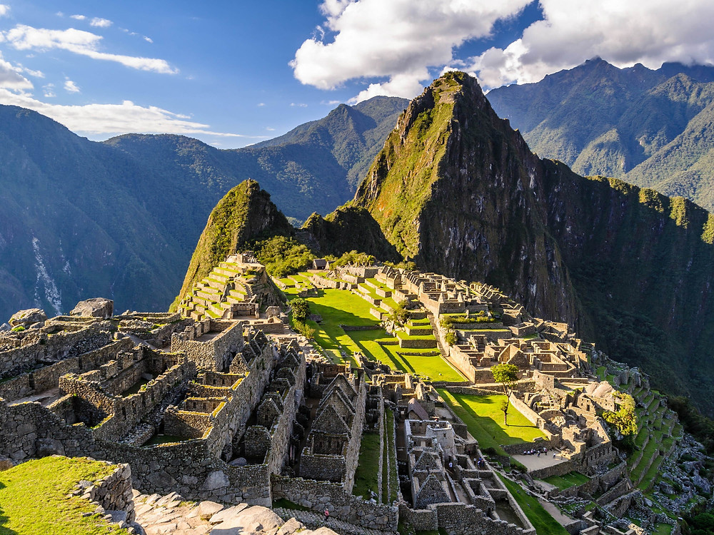 Machu Picchu, Peru (salah satu 7 Keajaiban Dunia) - Photo: Wikipedia, Author: Zielonamapa.pl