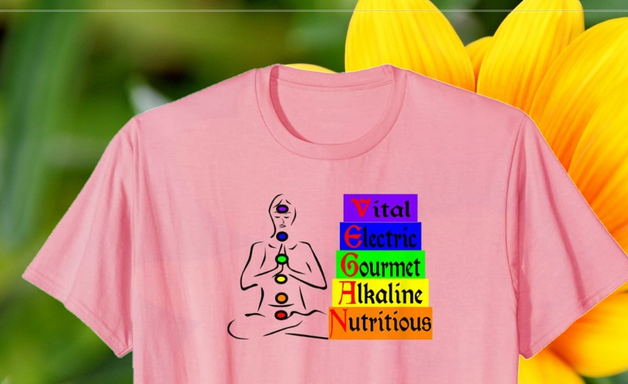 Chakra Vegan T shirt