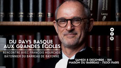 Rencontre avec Francois Hourcade, bâtonnier de Bayonne